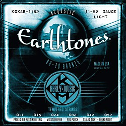 Kerly Music Earthtones 80/20 Bronze Acoustic Guitar Strings - Light Gauge (KQXAB-1152)