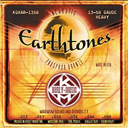 Kerly Music Earthtones Phosphor Bronze Acoustic Guitar Strings - Heavy (KQXA-1358)