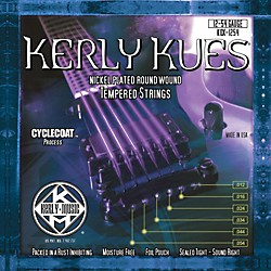 Kerly Music Kues Nickel Wound Electric Guitar Strings Jazz Light (KQX-1254)