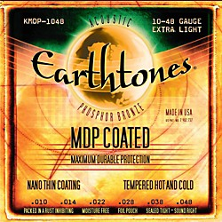 Kerly Music MDP Earthtones PB Extra Light Coated Acoustic Guitar Strings (KMDP-1048)