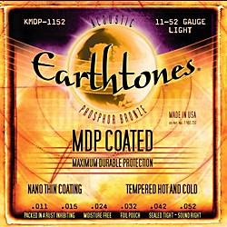 Kerly Music MDP Earthtones PB Light Coated Acoustic Guitar Strings (KMDP-1152)