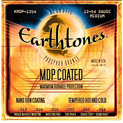 Kerly Music MDP Earthtones PB Medium Coated Acoustic Guitar Strings (KMDP-1254)