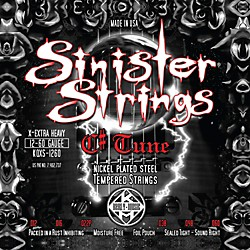 Kerly Music Sinister Strings NPS C# Tune Extra Heavy Electric Guitar Strings (KQXS-1260)