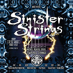 Kerly Music Sinister Strings Nickel Wound Electric Guitar Strings - Heavy (KQXS-1252)