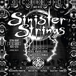 Kerly Music Sinister Strings Nickel Wound Electric Guitar Strings Extra Heavy (KQXS-1256)