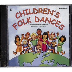 Kimbo Children's Folk Dances (KIM9149CD)
