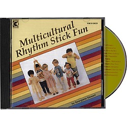 Kimbo Multicultural Rhythm Stick Fun (KIM9128CD)
