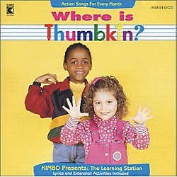 Kimbo Where is Thumbkin? (KIM9142CD)