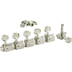 Kluson 6 In-Line Vintage Tuning Machines (SD9105MN)