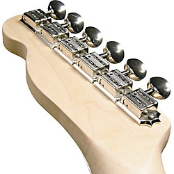Kluson KF6B F-Style Guitar Tuning Machines - 6-in-Line Bolt Bushing (TPKF6B-C)