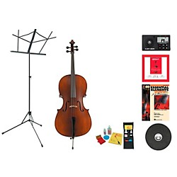 Knilling Model Perfection I Beginner Student 4/4 Cello Bundle (KnillP1VC44-123 Kit)