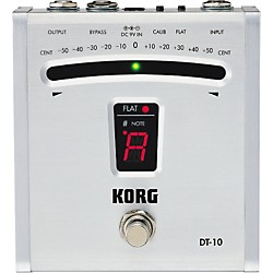 Korg DT-10 Digital Pedal Tuner (USED004000 DT10)