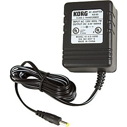 Korg KA193 4.5V Adapter for PX4, PX4B, and PXR4 (405012500)