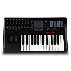 Korg Triton Taktile 25 key Keyboard/Synth Controller w/ Triton Engine (TRTK25)