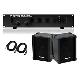 Kustom KPC10 / Phonic MAX 1000 Spkr & Amp Package (KIT - 584986)