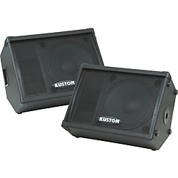 "Kustom KPC15M 15"" Monitor Speaker Cabinet with Horn Pair (KIT773299)"