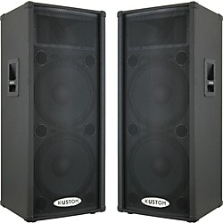 Kustom KPC215HP Powered Speaker Pair (KPC215HPPair)