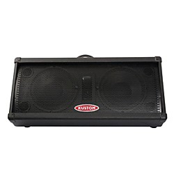 "Kustom PA KPM210 100W Dual 10"" 2-Way Powered Monitor (KPM210)"