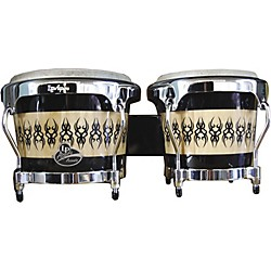 LP Aspire Accent Wood Bongos with Scarab Finish (LPA601-SCC)