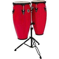 LP City Conga Set with Stand (LP646NY-RW Kit)