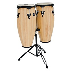 LP City Wood Conga Set w/ Double Stand (LP646NY-AW-KIT OLD)