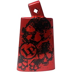 LP Collectabells Cowbell - Skull Red (LP204C-SR)