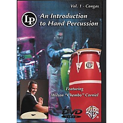 LP Introduction To Hand Percussion Vol. 1 - Congas DVD (30-LPVC101D)