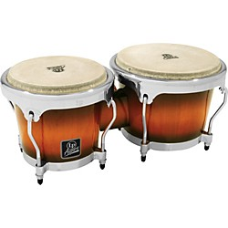 LP LPA601 Aspire Oak Bongos with Chrome Hardware (LPA601-SBC)