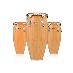 LP Performer Series 3-Piece Conga Set with Chrome Hardware (LPP3-AWC)