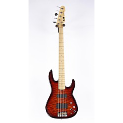 LTD LTD SURVEYOR-415 Quilted Maple 5-String Electric Bass Guitar (USED005006 LSURV415QMDBSB)