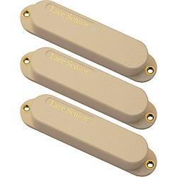 Lace Sensor Gold Guitar Pickups 3-Pack S-S-S Set (21073-03)