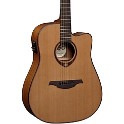 Lag Guitars T200DCE Dreadnought Cutaway Acoustic-Electric Guitar (USED004000 T200DCE)