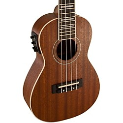 Lanikai Concert All-Mahogany Acoustic-Electric Ukulele with USB (LMU-C)
