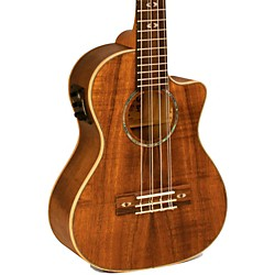 Lanikai Curly Koa Series CK-6EK 6-String Tenor Ukulele with Fishman Kula Electronics (USED004000 CK-6EK)