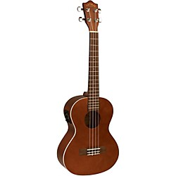 Lanikai LU Series LU-21TEK Tenor Acoustic-Electric Ukulele with Fishman Kula Electronics (LU-21TEK)