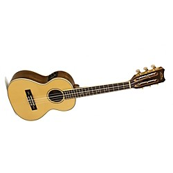 Lanikai O Series O-6EK Ovangkol 6-String Tenor Acoustic-Electric Ukulele with Fishman Kula Electronics (O-6EK)