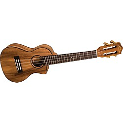 Lanikai SMP-CCA Solid Monkey Pod Concert Cutaway Acoustic-Electric Ukulele (USED004000 SMP-CCA)