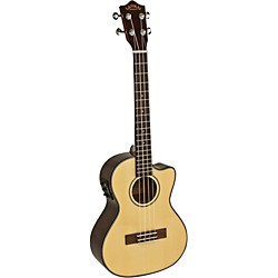 Lanikai Spruce Series S-TEK Tenor Acoustic-Electric Ukulele with Fishman Kula Electronics (S-TEK)