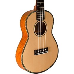 Lanikai Thinline Solid Spruce Top TunaUke Equipped Concert Ukulele (SOTTU-C)