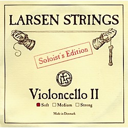 Larsen Strings Soloist Series Cello Strings (6LCAS)