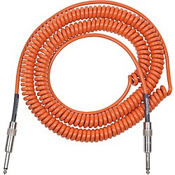 Lava Retro Coil 20 Foot Instrument Cable Straight to Straight Assorted Colors (LVARCOILO)