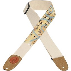 Levy's 2 In Guitar Strap Cotton (MSSC8U-001)