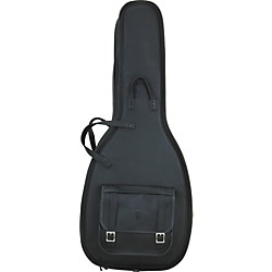 Levy's Italian Leather Acoustic Guitar Gig Bag (LM20-BLK)