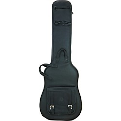 Levy's Italian Leather Bass Guitar Gig Bag (LM19-BLK)