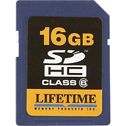 Lifetime Memory Products 16gb secure digital card (10086-16)