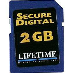 Lifetime Memory Products Secure Digital Card (10086-4)