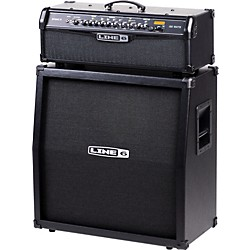 Line 6 Spider IV HD150 150W and 4x12 Guitar Half Stack (KIT-502594)
