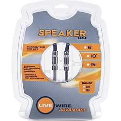Live Wire 16-Gauge Speaker Cable (S1625-LW)