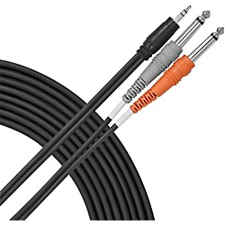 "Livewire 1/8"" (TRS) - Dual 1/4"" Y Cable (E10DQ)"