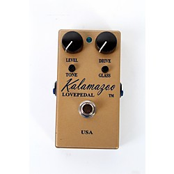 Lovepedal Kalamazoo Gold Overdrive Guitar Effects Pedal (USED005001 KZGOLD)